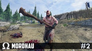THE GIANT GOES CLUBBING! (HORDE MODE) | Mordhau #2 Funny Moments W/ H2O Delirious, Toonz, Squirrel