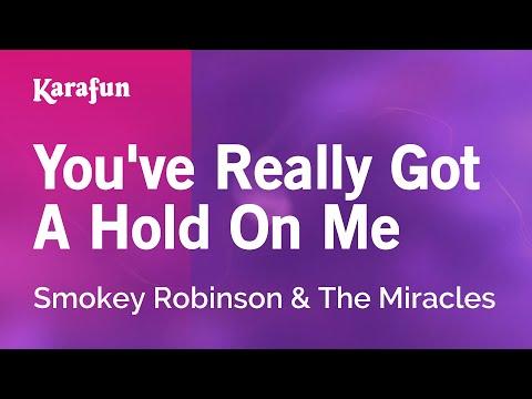 Karaoke You've Really Got A Hold On Me - Smokey Robinson *