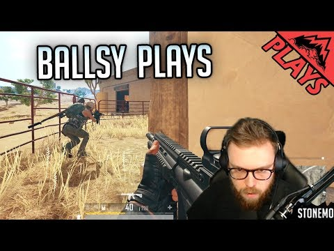BALLSY PLAYS -  PlayerUnknown's Battlegrounds Gameplay #158 (PUBG First Person Squads)