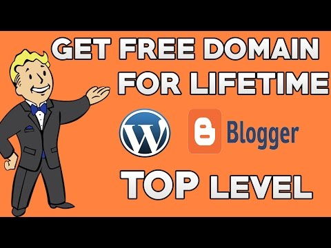 How to Get Free Domain For Website   Top level Domain for Life time in HINDI - 2017