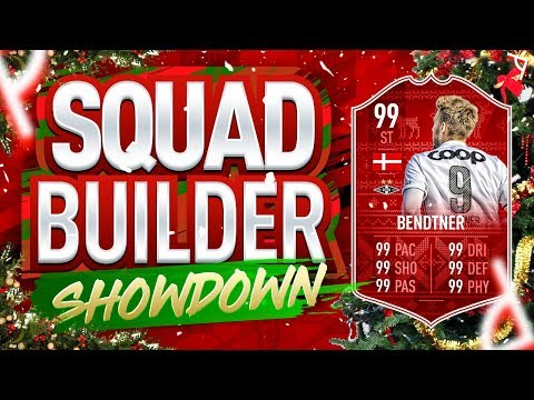FIFA 19 SQUAD BUILDER SHOWDOWN  FUTMAS BENDTNER  ADVENT CALENDAR Day 14