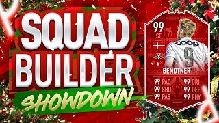 FIFA 19 SQUAD BUILDER SHOWDOWN! | FUTMAS BENDTNER | ADVENT CALENDAR Day 14