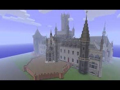 майнкрафт карта большого рыцаря и замком #6