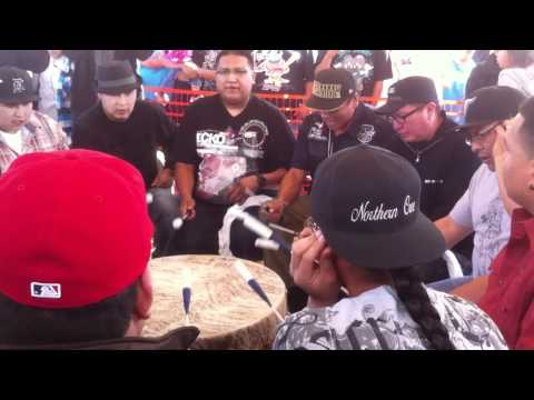 Midnite Express & Northern Cree - Grand Entry @ Red Mountain Eagle Powwow 2011