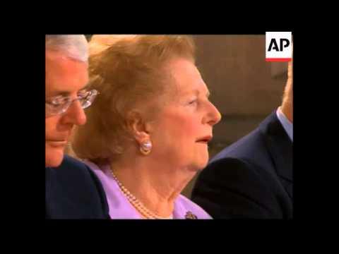UK - Death of Margaret Thatcher