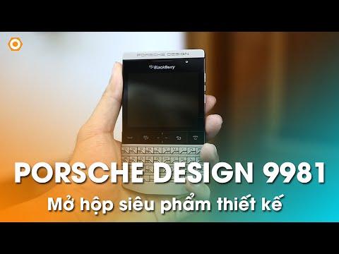 Blackberry 9981 Porsche Design: Máy đẹp, sang trọng, đẳng cấp