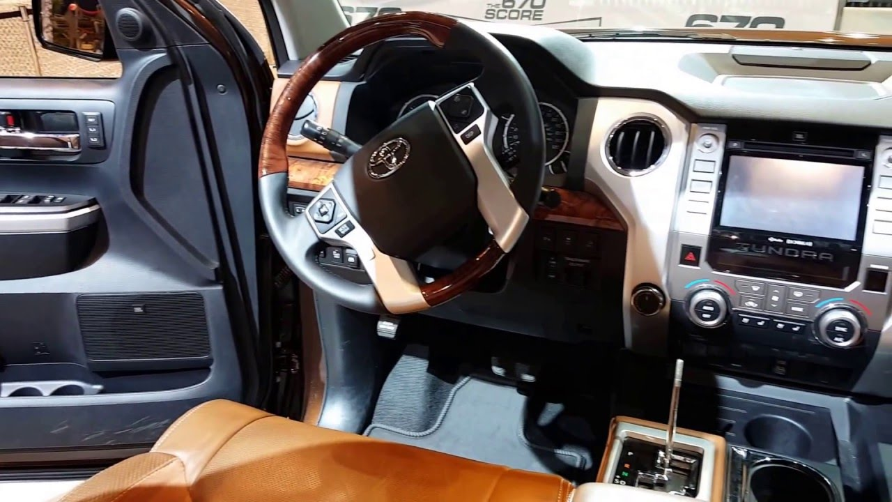 2016 toyota tundra 1794 edition interior walkaround price site toyota cars youtube. Black Bedroom Furniture Sets. Home Design Ideas
