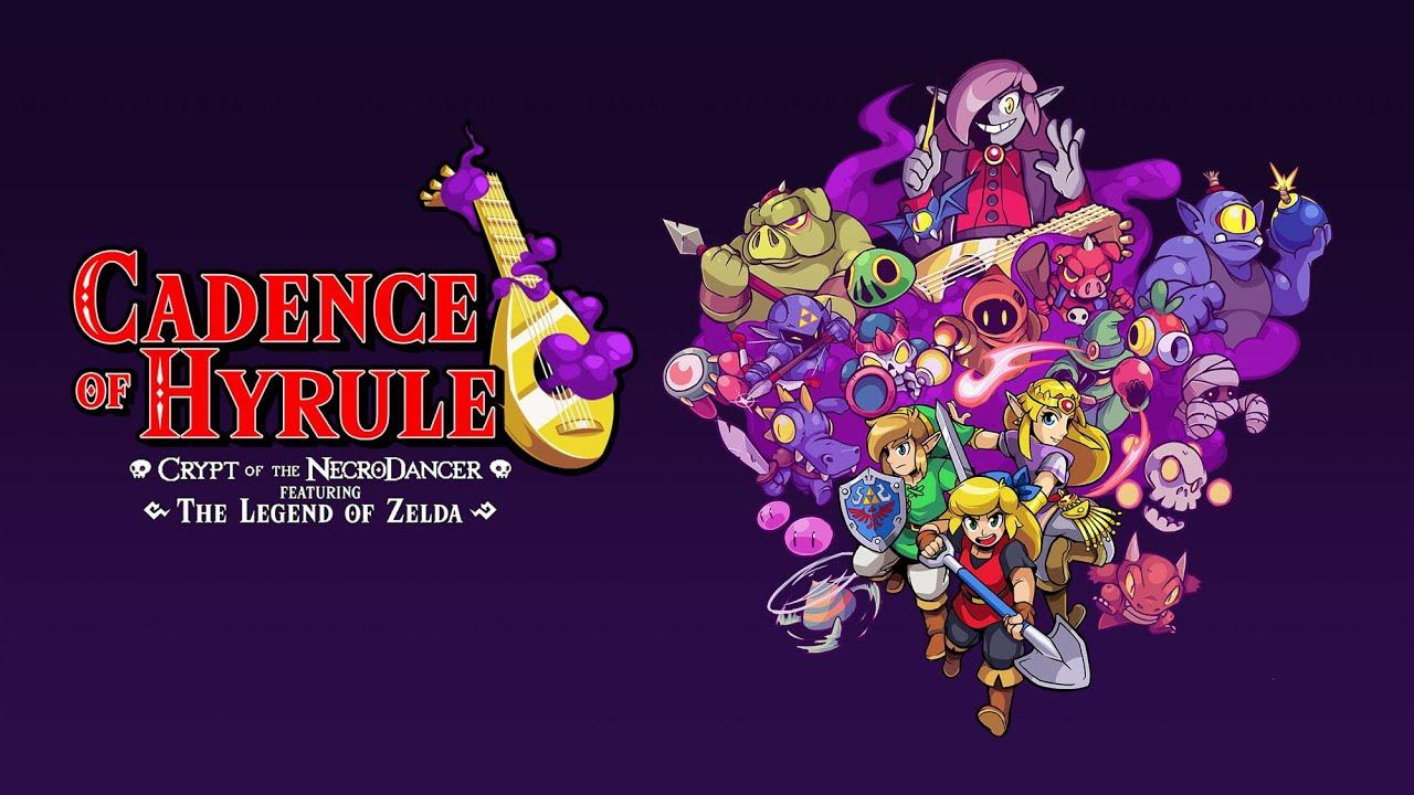 Cadence of Hyrule: Crypt of the NecroDancer Ft  The Legend of Zelda -  Release Trailer