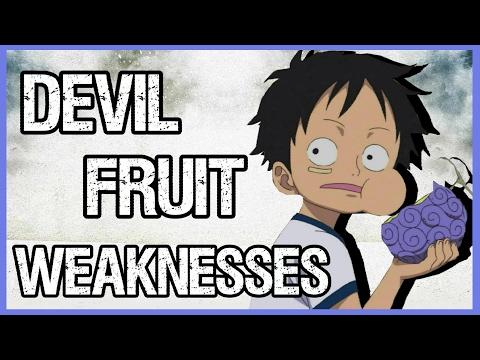 Explaining Devil Fruit Weaknesses