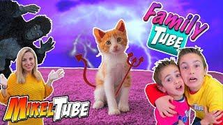 FamilyTube #12 🐈 Este gatito es un Demonio thumbnail