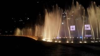 Dubai Dancing Fountain 2016- Thriller
