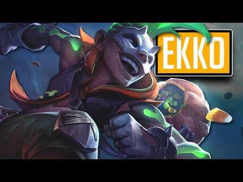 League of Legends #612: Ekko Jungle (CZ)