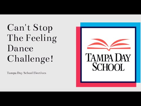 Can't Stop The Feeling Dance Challenge for Tampa Day School 2020
