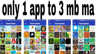 1 App Only 3 Mb To 300 Games Online