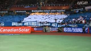 Nordkurve Gelsenkirchen: Choreo in Nürnberg - Max-Morlock-Stadion jetzt!