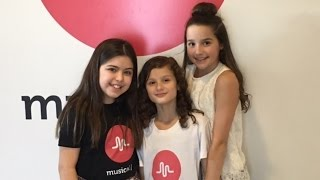 Sophia Grace  Meets Bratayley At Musically