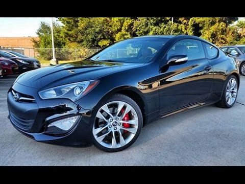 Genesis Coupe 2016 >> 2016 Hyundai Genesis Coupe 3 8 Ultimate Start Up Full Review