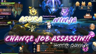Change Job Assassin to Asura! Which one better Asura vs Ninja Explanation! (With skill)- Laplace M