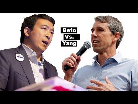 Andrew Yang Vs Beto's Policies 🥊 (Funny, Insightful) (Long Version) 2020 Election Debates