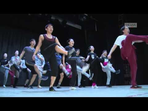 ЯСИА Один день из жизни Национального Театра танца Якутии