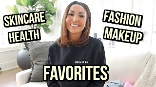 CURRENT FAVORITES I'M OBSESSED WITH! BEAUTY, FASHION & HEALTH   ALEXANDREA GARZA