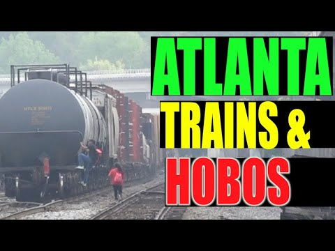 Atlanta Railfanning Part 2 -  NS & HOBOS