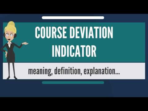 full scale deflection of a cdi occurs when the course deviation bar or needle