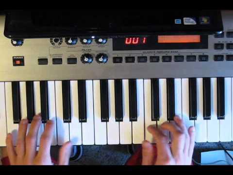 Set A Fire - Piano Tutorial