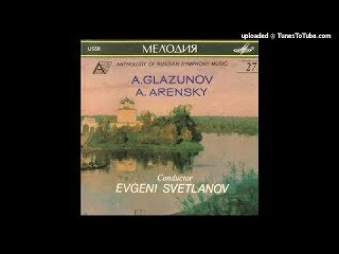 Anton Arensky : In Memory of Alexander Suvorov, March for orchestra (1900)