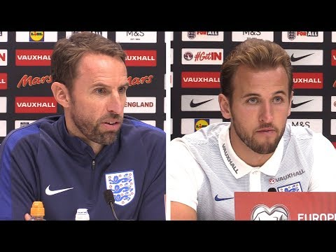 Gareth Southgate & Harry Kane Full Pre-Match Press Conference - England v Slovenia - WC Qualifying