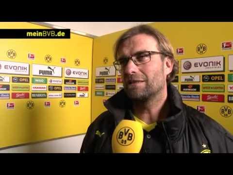 BVB - Greuther Fürth: Interview mit Jürgen Klopp