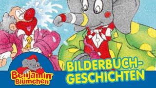 Benjamin Blümchen als Zirkusclown BILDERBUCH GESCHICHTEN