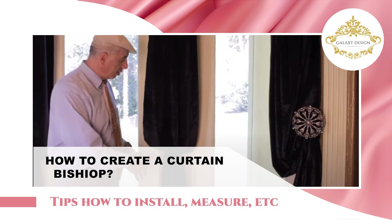 video #45: tips from us: curtain holdbacks diy - how to create a