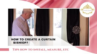 Video #45: Tips From Us: Curtain Holdbacks Diy - How To Create A Bishop With No Holdback