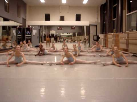 children ballet class part 2