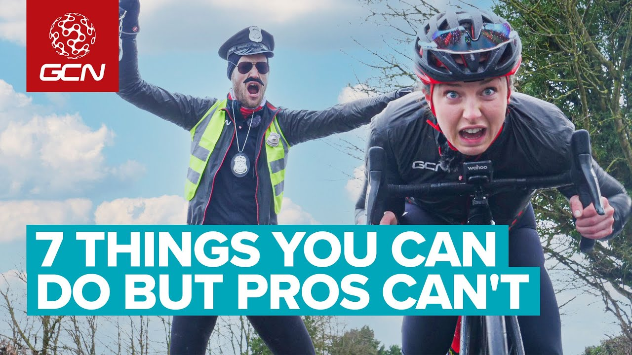 Download 7 Things Pro Cyclists Can't Do But WE CAN