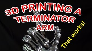 3D printed Terminator Arm that works