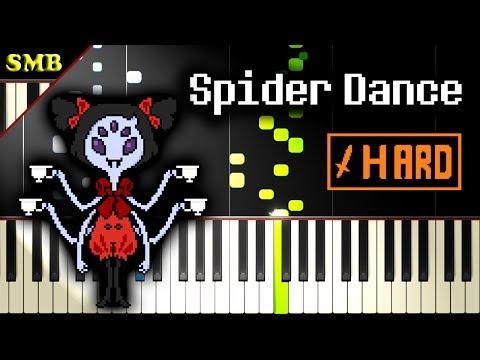 UNDERTALE - SPIDER DANCE - Piano Tutorial