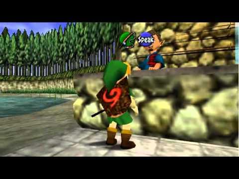 Legend Of Zelda: OoT Walkthrough Part 26 - Fishing Mini-game