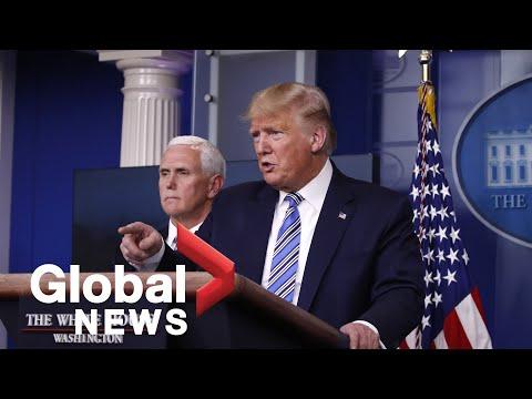 Coronavirus outbreak: Trump says order signed to prevent medical supply hoarding | FULL