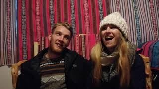British Couple Travelling English Accent Funny Introduction to YouTube