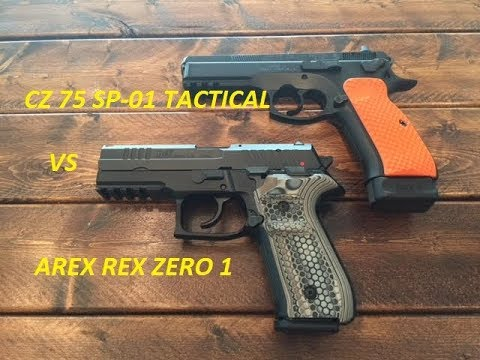CZ 75 SP-01 Tactical vs Arex Rex Zero 1 : Which 1 Would You Pick?