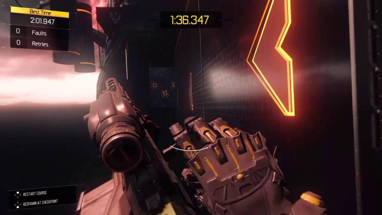 Bo3 Freerun Blackout Time 1 59 Speed Run Youtube