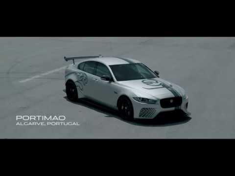 Jaguar Xe Sv Project 8 Portimao Track Youtube