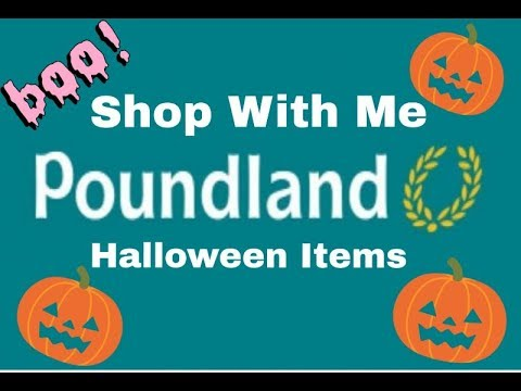 Poundland Shop with me - Shopkins for £1 | Halloween items | filmed 12th Sept |