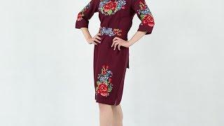 Украинские платья - Мальва
