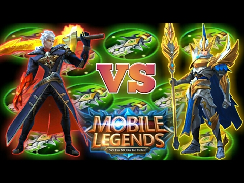 Mobile Legends : Yun Zhao vs Alucard 95% LifeSteal | Test 3 Different Build in 3 Round