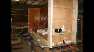 Construction Of 400 Gallon Plywood Fiberglass Aquarium