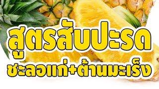 เผยสูตรน้ำหมัก สัปปะรดกับน้ำผึ้ง กินอย่างไรให้ได้ประโยชน์สูงสุดต่อร่างกาย