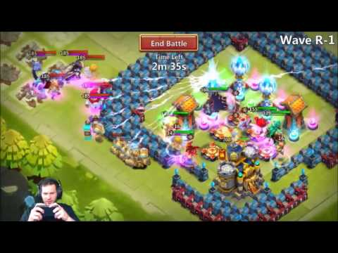JT's Free 2 Play HBM R With HeartBreaker Tearing It UP Castle Clash